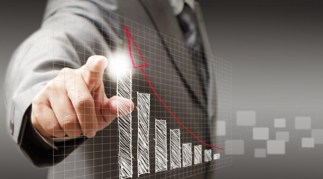 12602273 - businessman hand touch virtual graph,chart, diagram